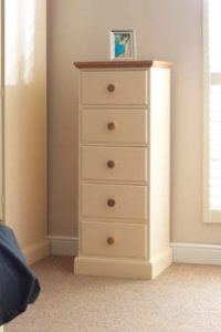Cornish Painted 5 Drawer Wellington