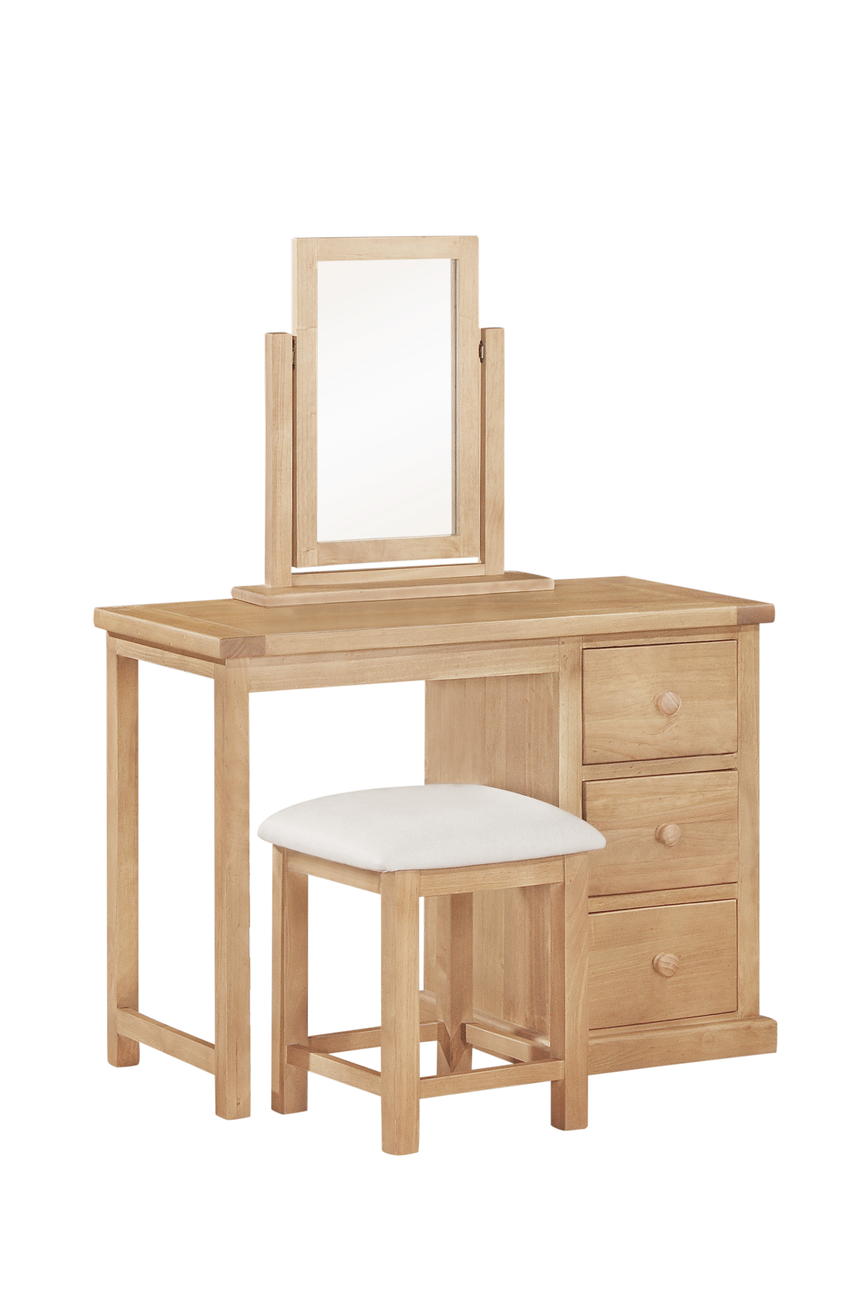 Rutland Pine Dressing Table And Stool Cott Farm Furniture