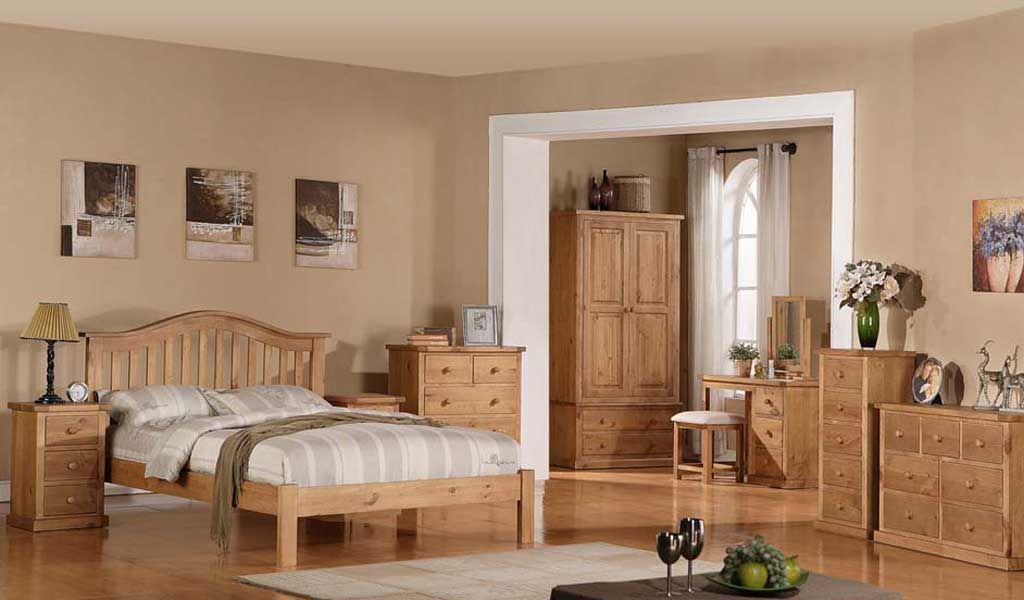 Rutland Pine Bedroom Furniture
