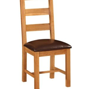Richmond Oak Ladder Back Chair
