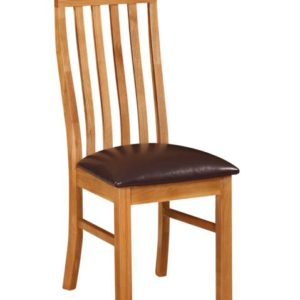 Richmond Oak Slatted Back Chair
