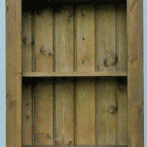 Hampshire pine bookcase