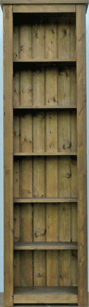 Hampshire pine bookcase