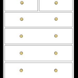 Devon Drawers 4+2 chest