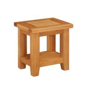 Richmond Oak Lamp Table