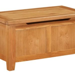 Richmond Oak Blanket Box