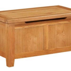 Richmond Oak Blanket Box