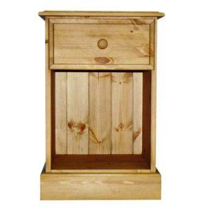 Somerset Pine 1 Drawer Bedside