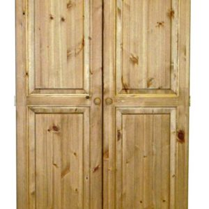 Somerset Pine 2 Door Wardrobe