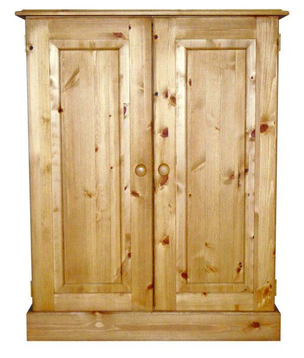 Somerset Pine Large Vanity Unit with Shelf