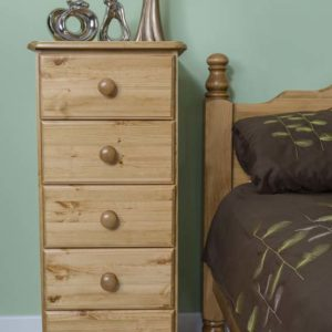 Wiltshire Pine 5 Drawer Wellington Chest