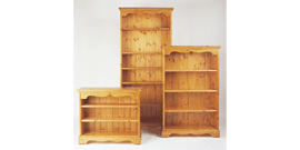 chunky Pine bookcase