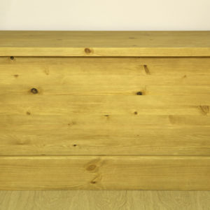 Sussex Pine Blanket Box