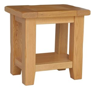 Tuscany Oak Lamp Table