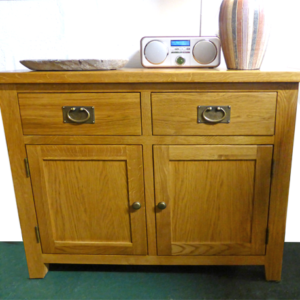 Tuscany oak 2 Door Sideboard
