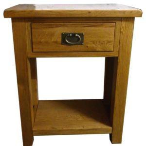 Tuscany Oak console table
