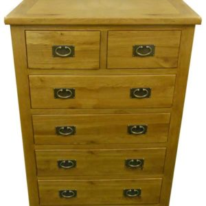 Tuscany Oak 2 over 4 chest