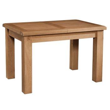 Tuscany oak Extending Table 1200 X 800