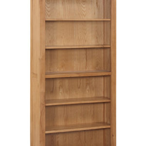 Twickenham Oak 6ft Bookcase