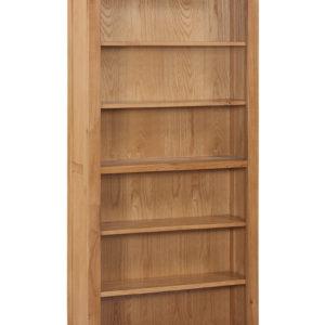 Twickenham Oak 6ft Bookcase