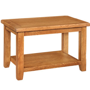 Richmond Oak Coffee Table with Shelf