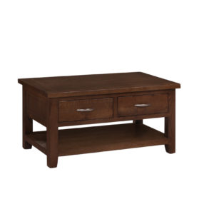 Hampton Oak Coffee Table with Drawers
