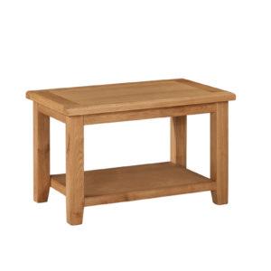 Twickenham Oak Coffee Table with Shelf