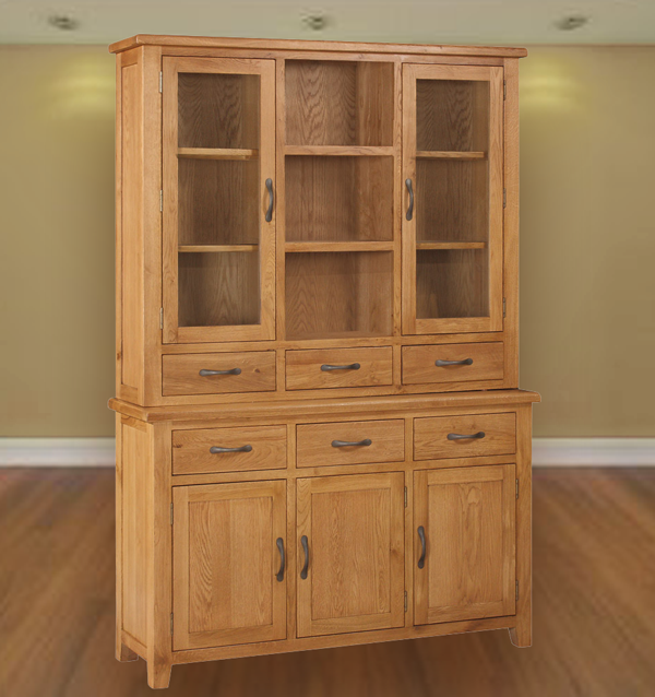 twickenham oak 3 door dresser