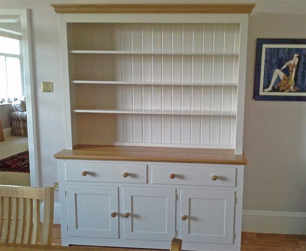 Devon Oak Dresser Painted with Trevi