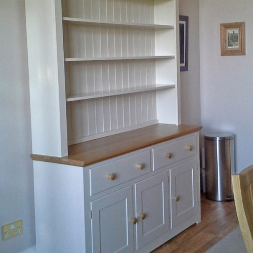 Devon Oak Painted Dresser